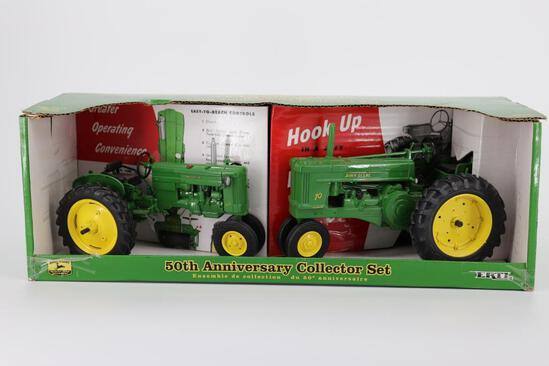 1/16 Ertl John Deere 50th Anniversary Set 40 & 70