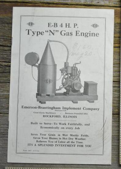 E-B 4 HP Type ?N? Gas Engines