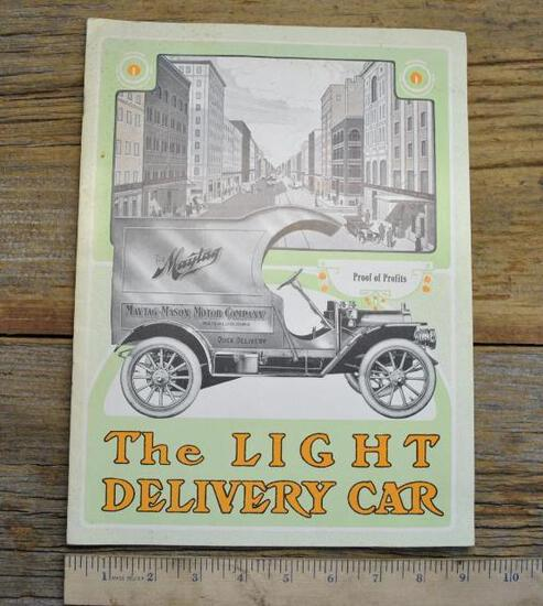 Maytag Light Delivery Car Catalog Waterloo Iowa