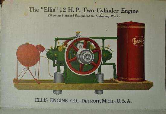 Ellis LARGE Fold Out Advertisement