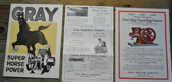 Grays New Power King Engines