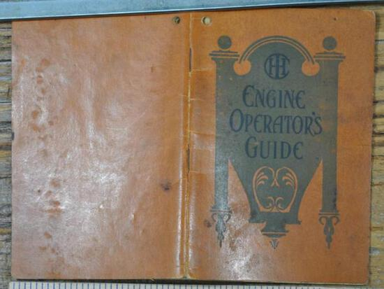 1912 IHC Engine Operators Guide 4th Edition