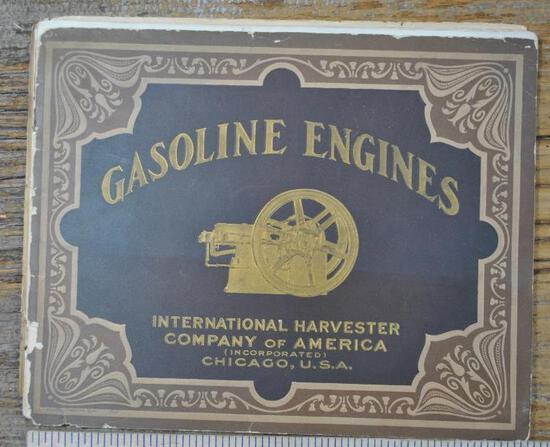 1907 or 08 IHC Gasoline Engine Full Line Catalog