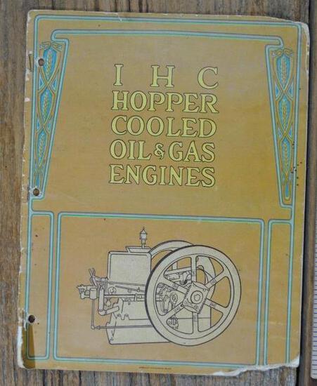 IHC Hopper Cooled Oil & Gas Engines Full Line Catalog