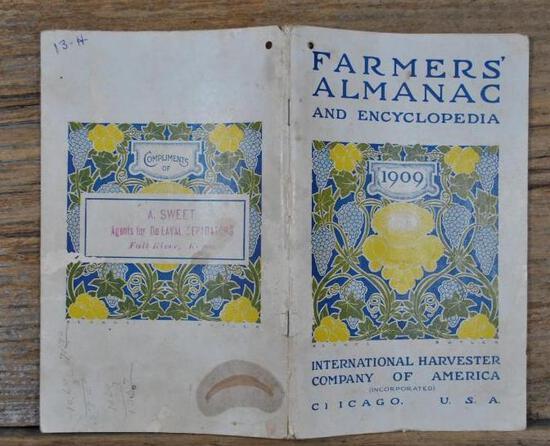 1909 IHC Almanac & Encyclopedia