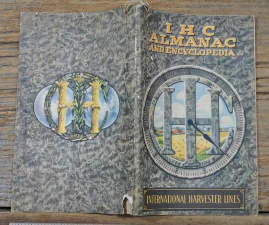 1913 IHC Almanac & Encyclopedia