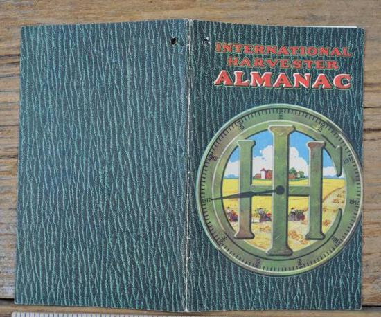 1917 International Harvester Almanac