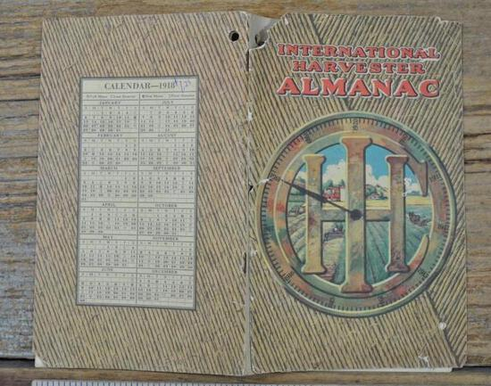 1918 International Harvester Almanac