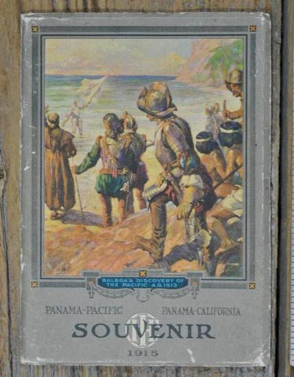 1915 IHC SOUVENIR PANAMA-PACIFIC PANAMA-CALIFORNIA Worlds Fair Catalog