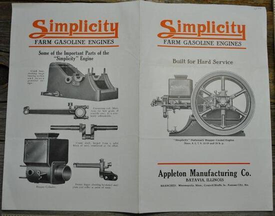 Simplicity Farm Gasoline Engines