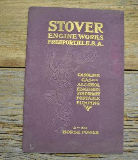 1908 Stover Engine Works Freeport, ILL Full Line Catalog