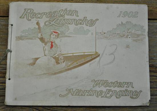 1902 Western Marine Engines Recreation Launches Catalog