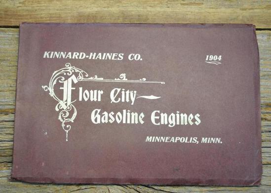 1904 Kinnard-Haines Co Flour City Gasoline Engines Full Line Catalog. Very Rare covers engines &