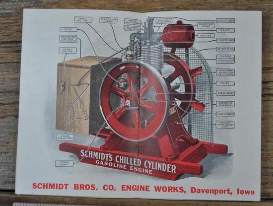 Scmidt Bros. Co. Engine Works Davenport, Iowa Full Line Catalog
