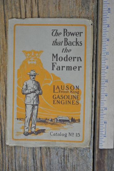Lauson Frost King Gasoline Engines Full Line Catalog #15