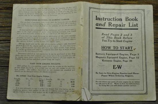 Economy Instruction Book