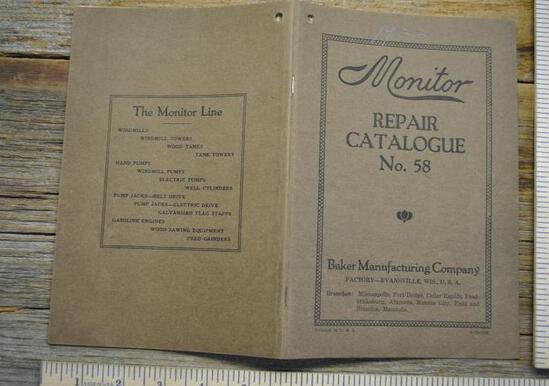 Monitor Repair Catalogue