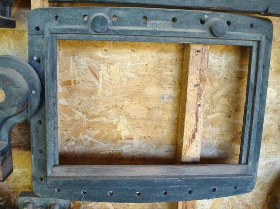 Large Firebox Door Frame Casting Pattern