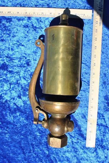 Brass Steam Whistle