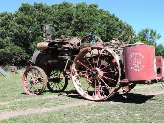 16 HP Advance Steam Traction Engine