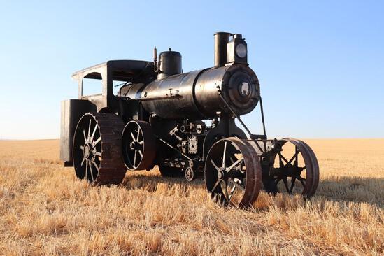 22 HP Avery Undermount Steam Traction Engine