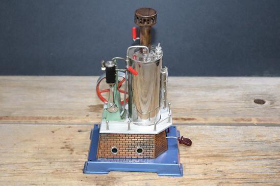 Wilesco Upright Steam Engine