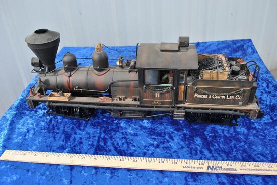 Bachmann Pardee & Curtin 2-Truck Shay Locomotive