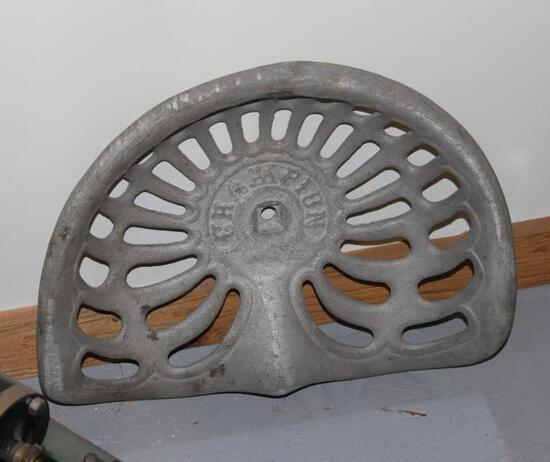 Champion Cast Iron Seat