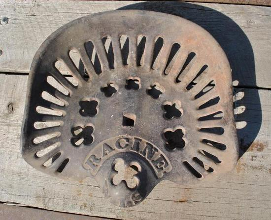 Racine Cast Iron Seat