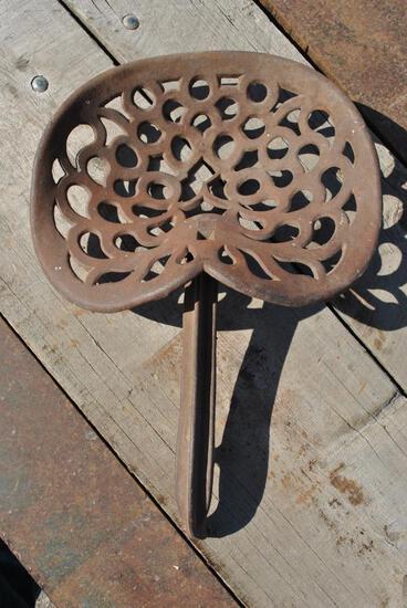 Barnes Woodworking Cast Iron Seat