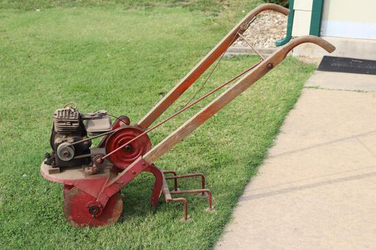Tractorette Walk Behind Garden Tractor