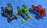 Ertl Toy Stationary Engines - McCormick-Deering, John Deere & Waterloo Boy