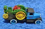 Vintage Truck & Waterloo Boy Tractor