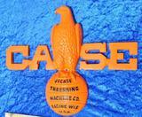 J.I. Case Threshing Machine Co. Cast Emblem