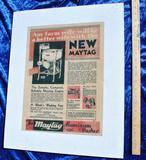 Maytag Aluminum Washer Advertisement