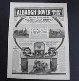Albaugh-Dover Square Turn Tractor Advertisement