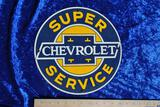 Chevrolet Super Service Sign