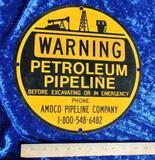 Petroleum Pipeline Sign