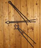Vintage Blacksmith Tongs