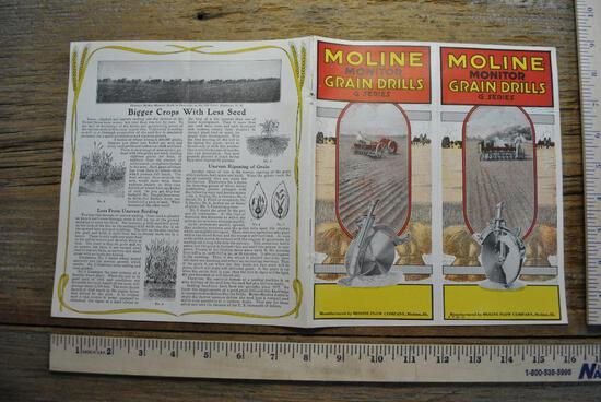Moline Plow Co Literature