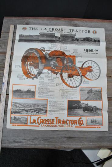 La Crosse Tractor Co Literature