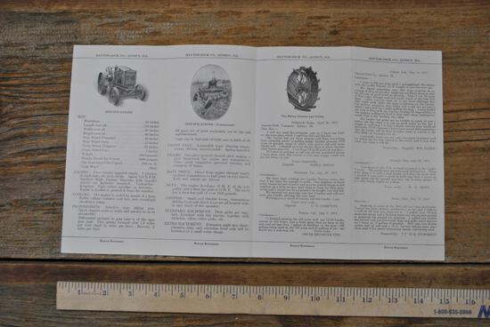 Quad-Fold Leader Tractor Brochure
