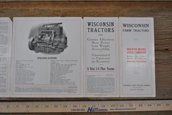 Wisconsin Farm Tractors Foldout