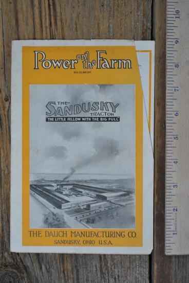 Sandusky Tractor Brochure