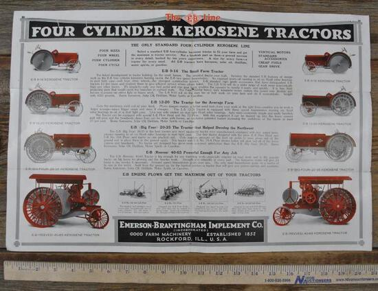 Emerson Brantingham Implement Company Mailing Brochure
