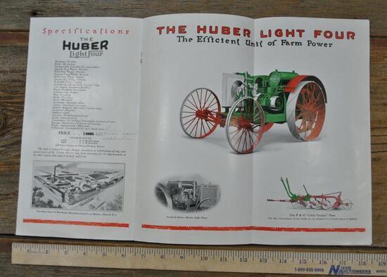Huber Light Four Tractor Brochure