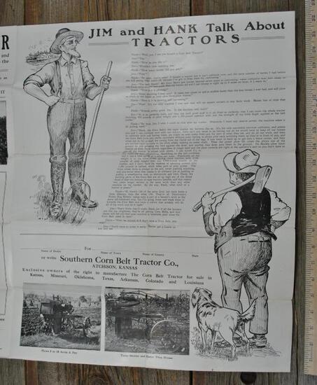 Southern Corn Belt Tractor Company Brochure