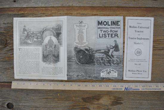 Moline Plow Co. Literature