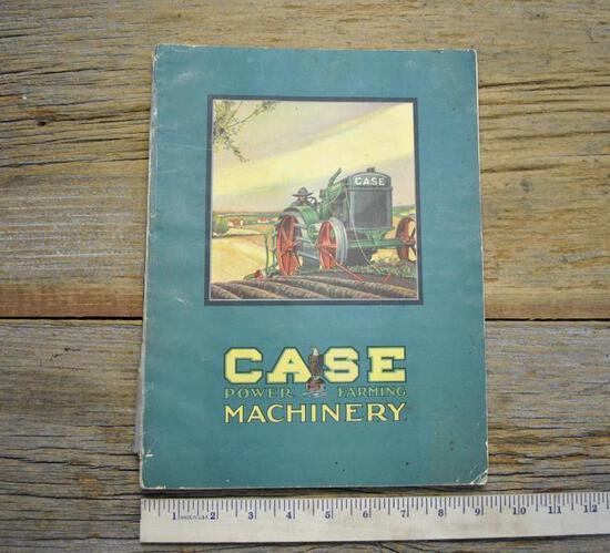 J.I. Case Power Farming Machinery Book