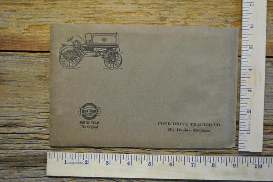 Fitch Four-Drive Tractor Brochure